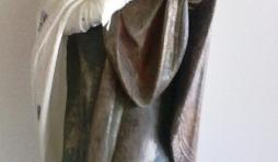 La sculpture comptait 14 couches successives