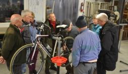 Les cyclos de Rochefort se preparent