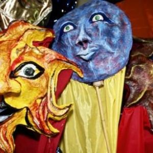 Masques et tenues d'halloween