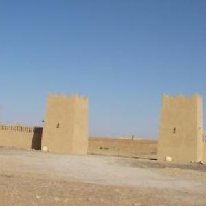 Un ksar aux murs faits de pise