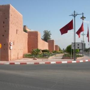 Les murailles extérieures de Marrakech, la Magnifique