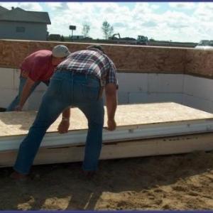 Preparation des panneau muraux
