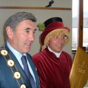Eddy Merck au Carnaval de Malmedy