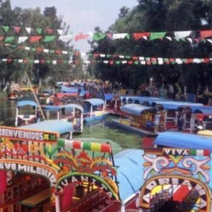 Barges of Xochimilco