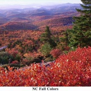 NC Fall Color - (c) North Carolina Tourism Office