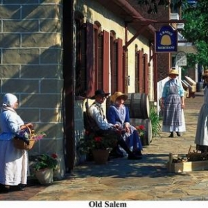 Old Salem, Winston-Salem - (c) North Carolina Tourism Office