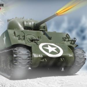 Tank Sherman Bastogne 2