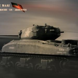 Tank Sherman La Roche -En -Ardennes3