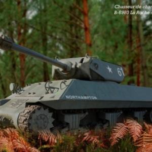Chasseur de char M 10 - 1 La Roche-En-Ardennes