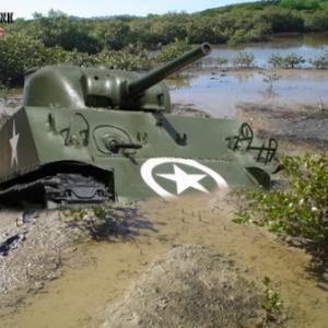 Tank Sherman Bastogne 3