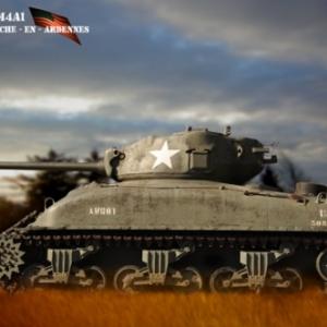 Tank Sherman La Roche -En -Ardennes 1