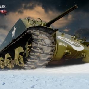 Tank Sherman Bastogne 5