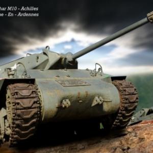 Chasseur de char M 10 - 3 La Roche-En-Ardennes