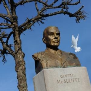 Général Mc Auliffe Bastogne