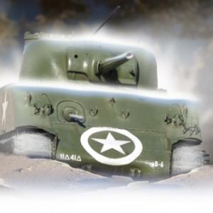 Tank Sherman Bastogne 11