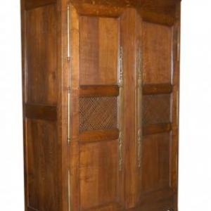 armoire garde-manger ( Normandie, milieu 19eme siecle)