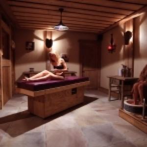 Espace de repos Sauna