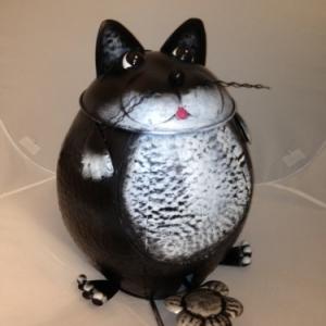 Poubelle chat