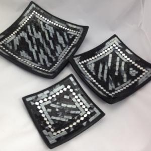 Coupes mosaique assorties aux miroirs