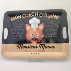 plateau 50cm monsieur Miaou
