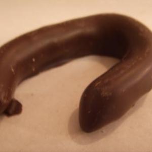 Ecorce orange confite chocolat fondant