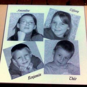 4 enfants pour anniversaire