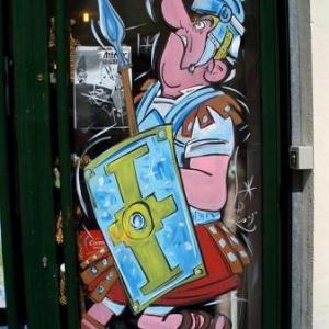 vitrine, peinture, festival, BD, bande, dessinee, mantes la jolie, jean-marie lesage, olympus u 760,