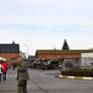 au Bastogne Barracks (Base Bastogne rue de La Roche)