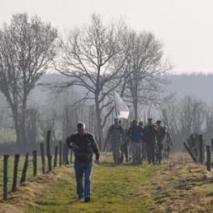 Dead Man's Ridge Walk 2012 à Houmont