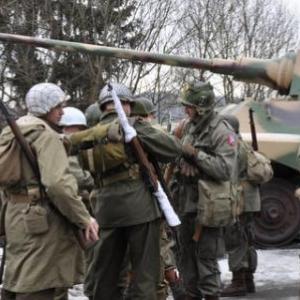 Encore des photos de la Marche commémorative de la 82ème Airborne (La Gleize)