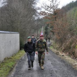 """In the footsteps of the 82nd Airborne Division"", Manhay, 26 Fév. 2011"