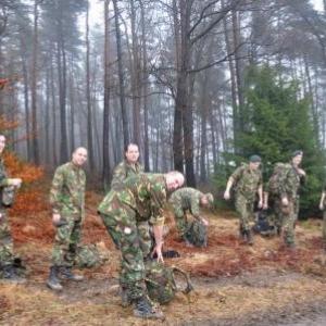 Des militaires Hollandais.