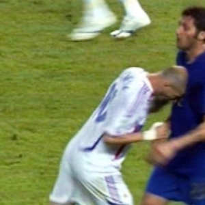 Zinedine Zidane, le coup de boule