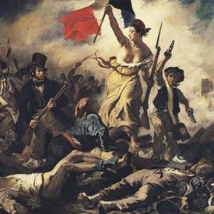 Delacroix. Sa peinture la plus connue.
