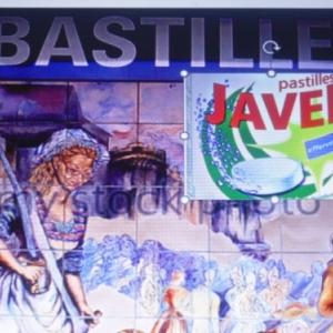 metro de paris, Pastilles Javel