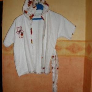 """23. peignoir """"nourrisson"""", atelier de formation couture Casbah d'Alger (12 euros)"""