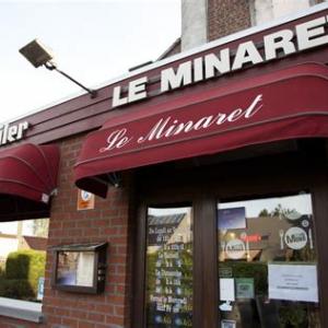Le Minaret. Restaurant a Boussu. Avec de la Jupiler bien wallonne.