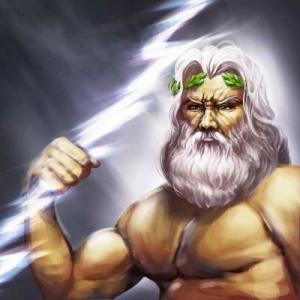 Zeus, le dieu de la foudre