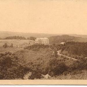 Houffalize, hotel des Bruyeres, aujourd'hui Home Louis Palange.