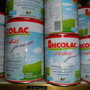 Incolac, lait en poudre made in Belgium, maitre achat