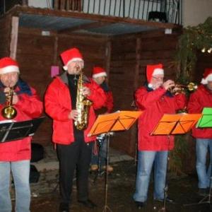 35. le Canot band: Dany et Michel A la trompette; un autre Daniel au saxo