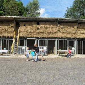 La ferme d'A Yaaz. Dans la cour