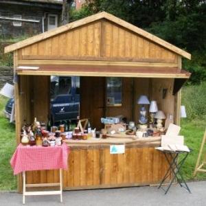 chalet, abri de jardin, remise (toit double pente). Traitement du bois par autoclave. Standard ou sur mesure