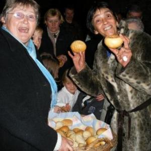 la distribution des pains