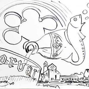 Illustration originale de J.M. Lesaqge, illustrant notre article de 2013.