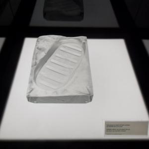 l'empreinte du premier pas d'Armstrong sur la lune