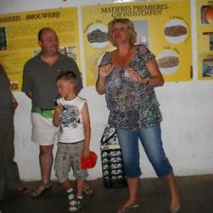 La guide, Carine, est en semaine professeur de semaphore