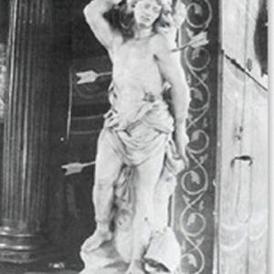 Saint Sebastien en pierre, par Pessas, danas le Loiret (XVIIIe). Traits communs avec celui de Houffalize.