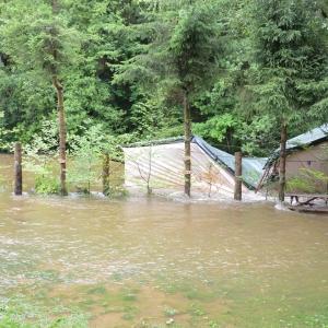 """camping """"Chasse et pêche,"""" route de La Roche"""
