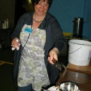 A la vaisselle, Catherine Fetten